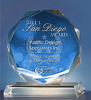 2011 San Diego Award in the Electrical Or Electronic Engineering